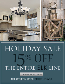 Save 15% on the ENTIRE ELK LINE!