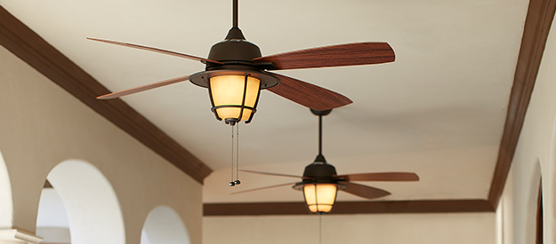 Ceiling Fan Size - Max. Space