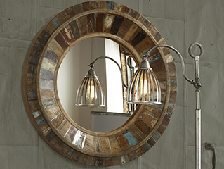 Go Full Circle with Round Mirrors
