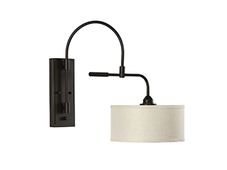 {rogress Lighting | Kempsey | Swing Arm Wall Lamp
