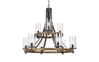 Feiss Angelo Chandelier