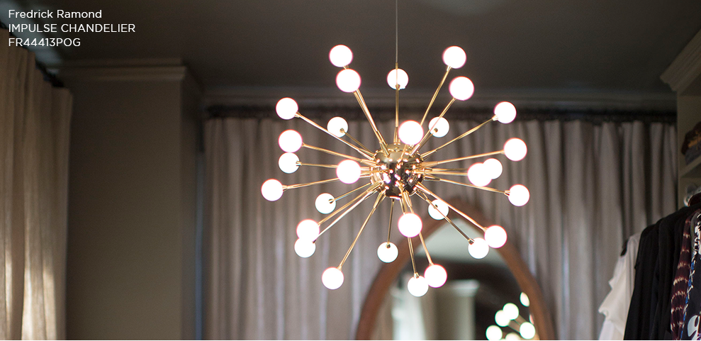 Fredrick Ramond Impulse Chandelier