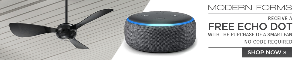 Modern Forms | Free Echo Dot with Purchase