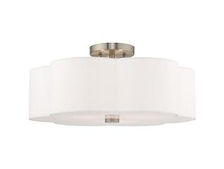 Livex Lighting | Chelsea | Semi-Flush Ceiling Mount