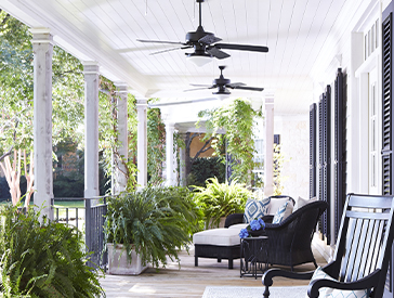 Quorum | Estate Patio | Outdoor Fan Collection