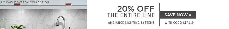 Ambiance Lighting Systems | 20% OFF The Entire Line | with code: SEA419 | Save Now