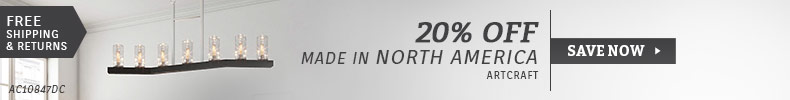 Artcraft | 20% Off Made in North America