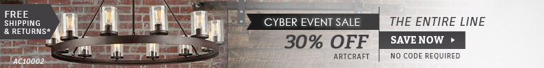 Artcraft | Cyber Event Sale | 30% OFF The Entire Line