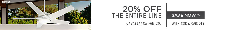 Casablanca | 20% OFF The Entire Line | with code: CAB1018