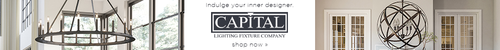 Indulge your inner Designer | Capital Lighting Fixture Company | shop now (COPY)