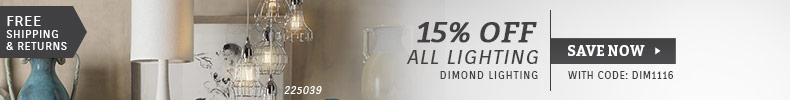 Dimond Lighting | 15% Off All Lighting