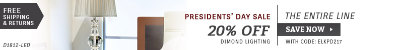 Presidents' Day Sale - 20% OFF Dimond Lighting