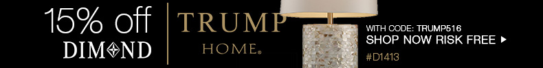 Dimond | 15% Off Trump Home