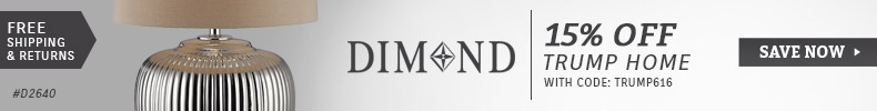 Dimond Lighting | Trump Home Sale | 15% Off