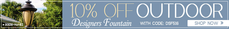 Designers Fountain | 15% Off Outdoor Lighting