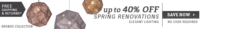 Elegant Lighting | Up To 40% OFF Spring Renovations