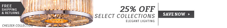 Elegant Lighting | 25% Off Select Collections
