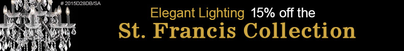 15% off the St. Francis Collection!