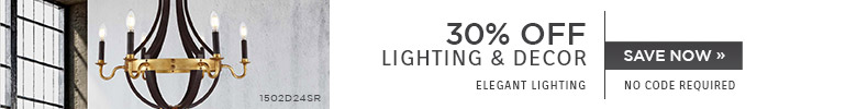 Elegant Lighting | 30% OFF Lighting & Decor | No Code Required