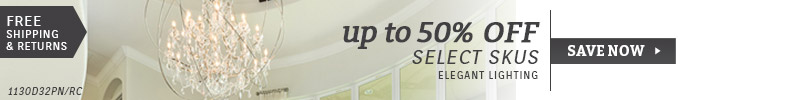 Elegant Lighting | Up To 50% OFF Select SKUs