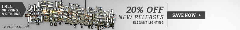 Elegant Lighting | 20% Off New Releases