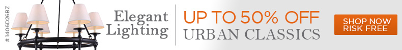 Elegant Lighting | Up to 50% off Urban Classics