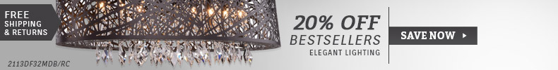 Elegant Lighting | 20% Off Bestsellers