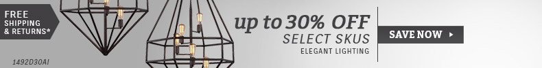 Elegant Lighting | Up To 30% OFF Select SKUs