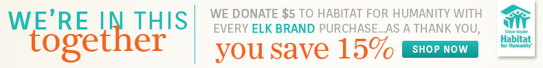 Elk Brands | Habitat for Humanity | 10% OFF