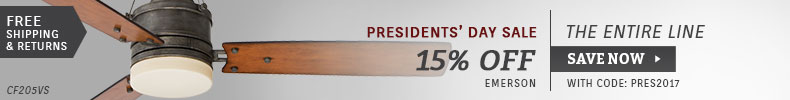 Emerson | Presidents' Day Sale | 15% Off the Entire Line