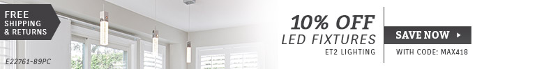 ET2 Contemporary Lighting | 10% OFF LED Fixtures