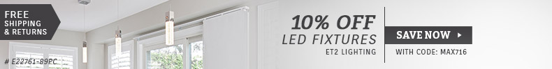 ET2 Lighting | 10% Off LED Fixtures