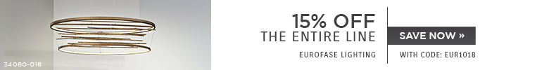 EuroFase Lighting | 15% OFF The Entire Line | with code: EUR1018