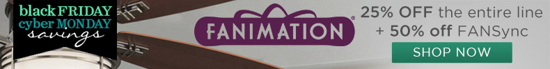 Fanimation l 25% off the entire line l 50% off FANsync