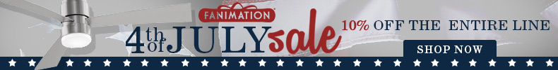 FANIMATION 4th of July Sale! 10% Off the Entire Line!