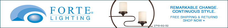 Forte Lighting | Remarkable Change. Continuous Style. Free Shipping & Returns | Shop Now