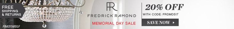 Fredrick Ramond | Memorial Day Sale | 20% Off the Entire Line
