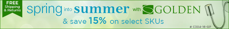 SPRING INTO SUMMER.. & Save 15% on Select Skus!