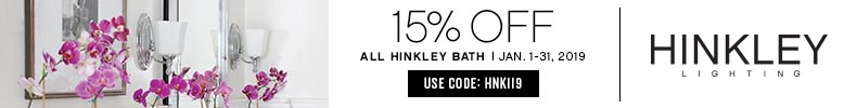 Hinkley Lighting | 15% OFF All Bath | with code: HNK119