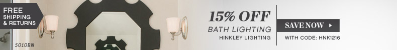 Hinkley | 15% Off Bath Lighting