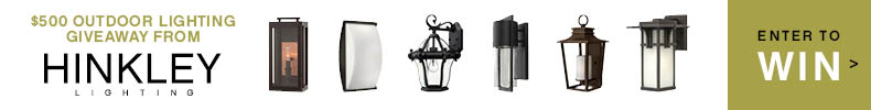 WIN HINKLEY's $500 Outdoor Lighting Giveaway!