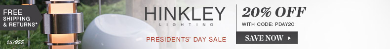 Hinkley Lighting | Presidents' Day Sale | 20% OFF The Entire Line