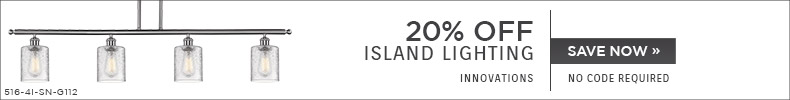 Innovations | 20% OFF Island Lighting | no code required