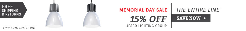 Jesco | Memorial Day Sale | 15% Off the Entire Line