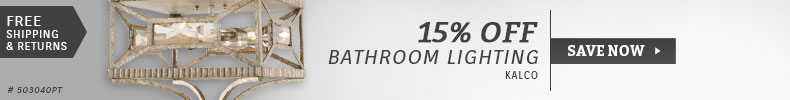 Kalco | 15% Off Bathroom Lighting