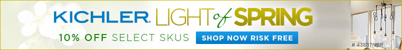 10% OFF Kichler Light of Spring!