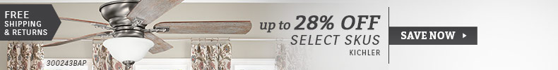 Kichler | Up to 28% Off Select SKUs