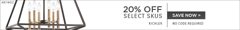 Kichler | 20% OFF Select Skus | No Code Required