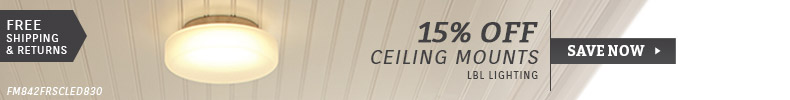 LBL Lighting | 15% Off Ceiling Mounts