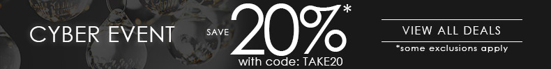 Cyber Event | Save 20%* with code: TAKE20 | View All Deals